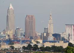 Thunderbirds over Cleveland, Ohio
