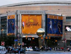 Quicken Loans Arena during 2007 Finals against San Antonio Spurs