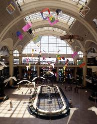 Inside Tower City, Cleveland Ohio
